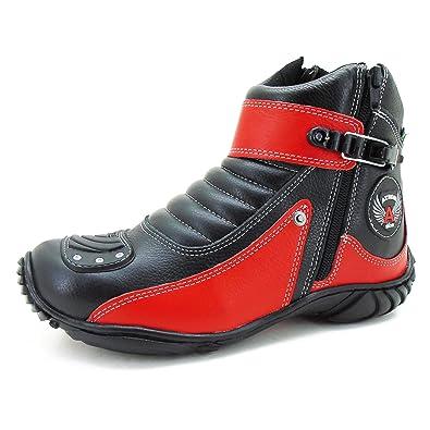 2b0a148bb99 Coturno bota para motociclista de couro com protetor de marcha (33)