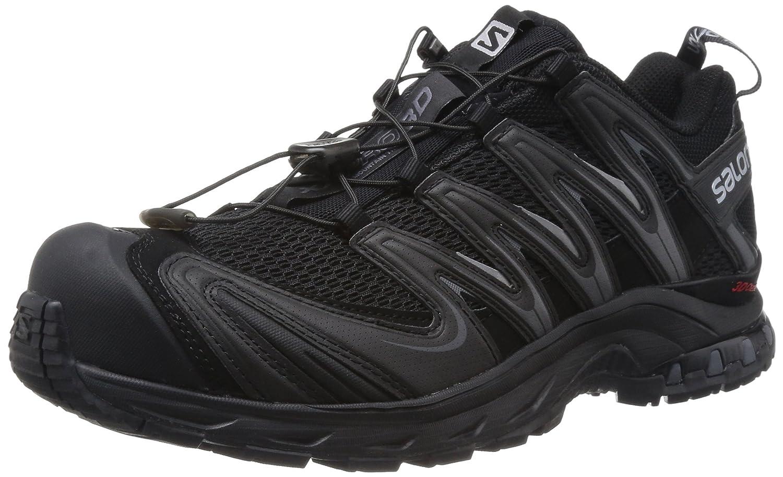 SALOMON XA Pro 3D, Chaussures de Trail Hommes Noir (noir noir Dark Cloud) 42 EU
