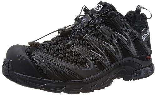 Salomon XA PRO 3D - Zapatillas de correr en montaña para hombre, Negro, 42: Amazon.es: Zapatos y complementos