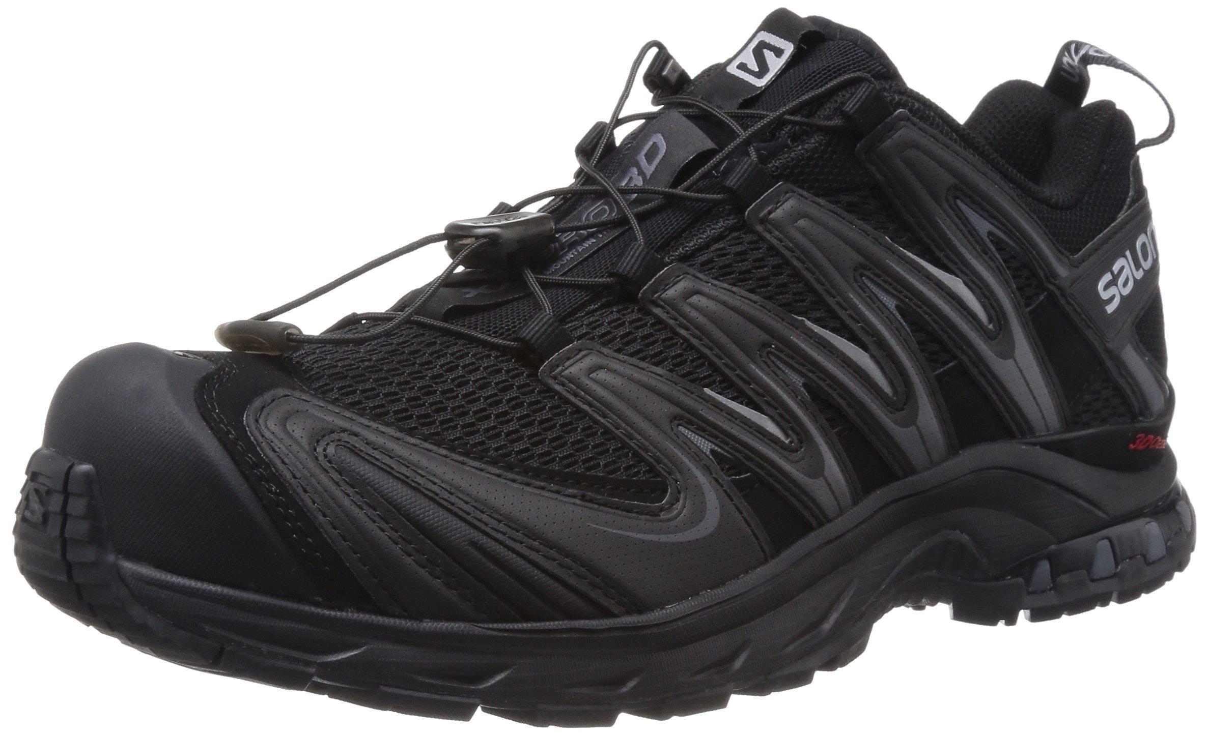 Salomon Men's XA Pro 3D Trail Running Shoe,Black/Black/Dark Cloud,8.5 M US