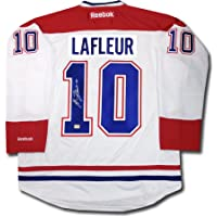 $270 » Autograph Authentic AAAJH30126 Guy Lafleur Autographed White Montreal Canadiens Jersey