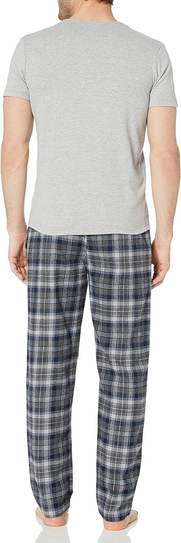Ben Sherman Mens Tee /& Flannel Set