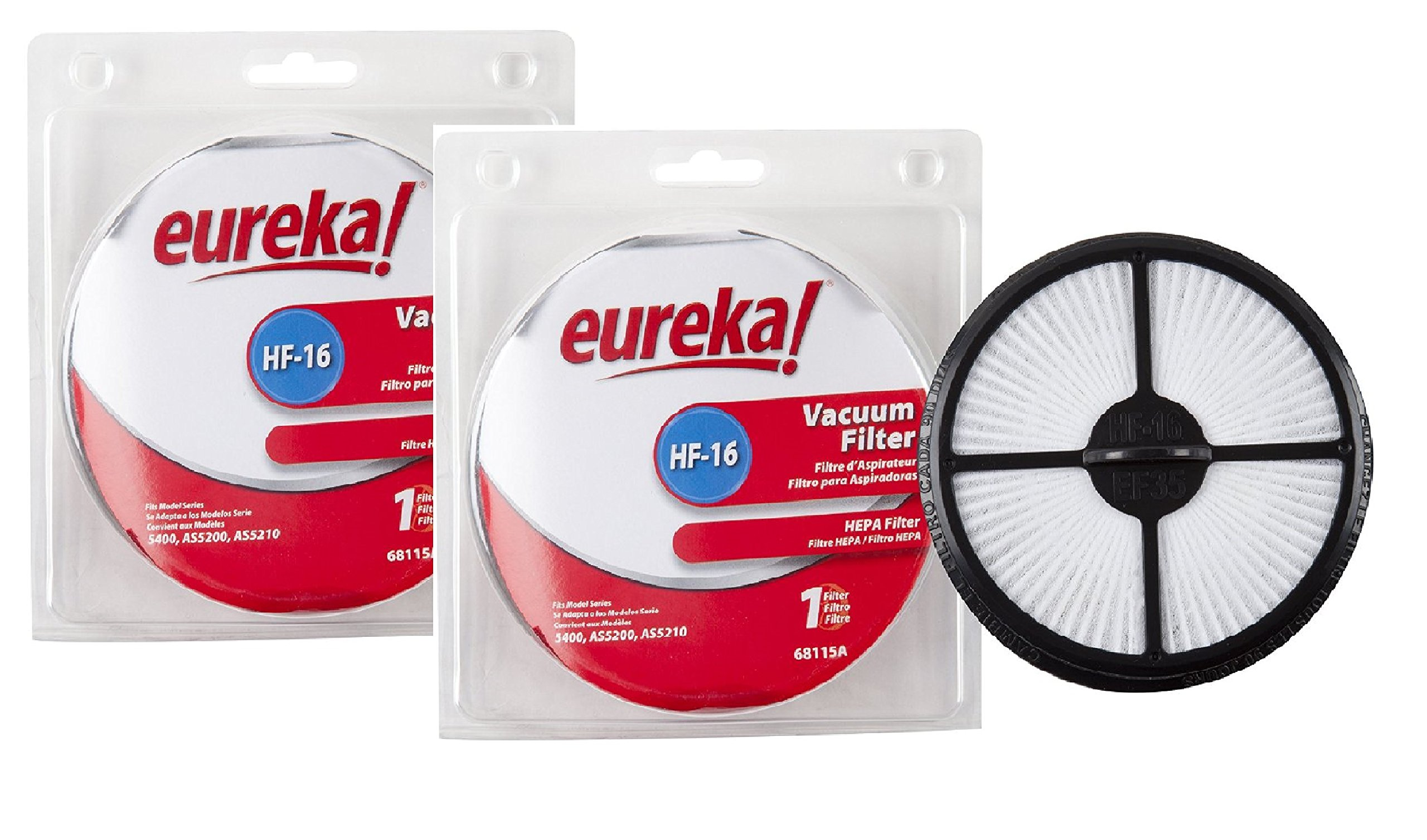 Genuine Eureka HF-16 HEPA Vacuum Filter 68115 - 2- by Eureka