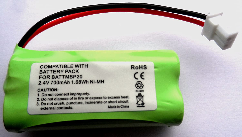 Motorola Baby Monitor Mbp161Mbp161Minuteur batterie Compatible 2,4V BATTERY VOLT
