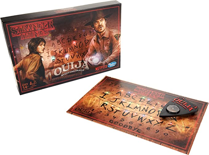 Stranger Things Quija Board Limited Edition: Amazon.co.uk: Toys & Games