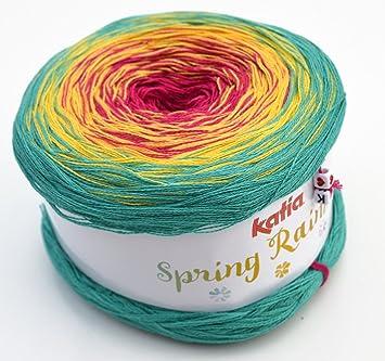 Amazonde Katia Spring Rainbow Fb 69 Bobbel Wolle