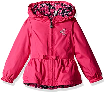 be516b7d6031 Amazon.com  London Fog Toddler Girls  Reversible Midweight Poly to ...