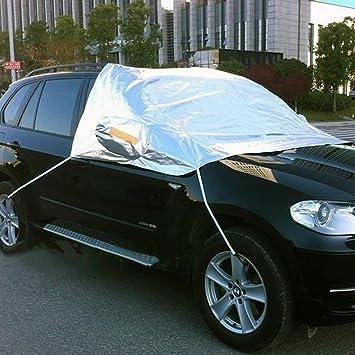 exlight Trading 1 pieza Poliéster coche cubierta de nieve con bolsa de almacenamiento (unidades 1), L: Amazon.es: Coche y moto