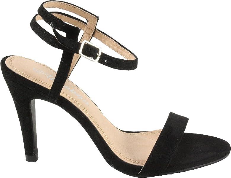 Weeboo Women/'s Erin-4 Adjustable Ankle Strap High Heel Sandals