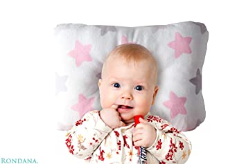 Sable Baby Toddler Pillow for Sleeping Contour Design Oeko-Tex 100 Certified 100/% Organic Cotton Exterior Helps Prevent Flat Head