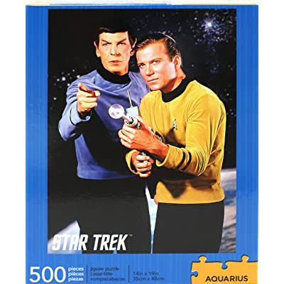 Star Trek Spock & Kirk 500 pc Puzzle: Toys & Games