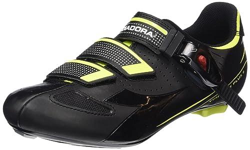 Diadora TRIVEX PLUS - Calzado de ciclismo unisex, color Negro, talla 40