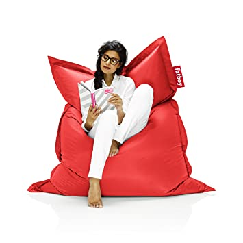 Marvelous Fatboy The Original Bean Bag Chair Red Cjindustries Chair Design For Home Cjindustriesco