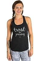 "Inner Fire ""Trust the Journey"" Yoga Racerback Tank Top"