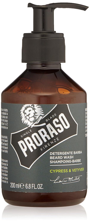 Champú para Barba Ciprés y Vetiver Proraso 200ml 400752