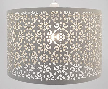 moroccan style lighting. Ornate Moroccan Style Light Shade 30 Cm Round Floral Cream Easy Fit Ceiling Chandelier Pendant Lighting I