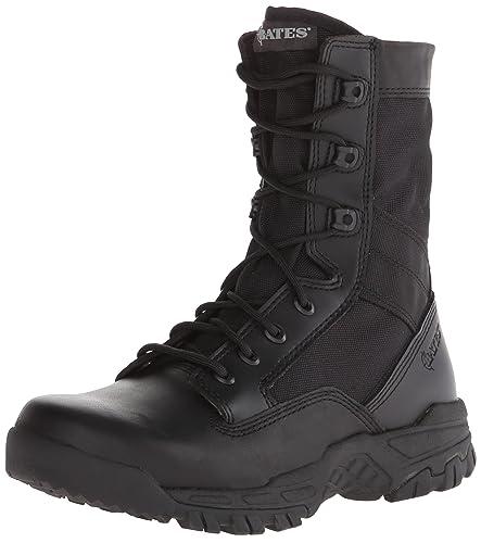 Men's Bates 8 inch Zero Mass Side - zip Boots Black, BLACK, ...