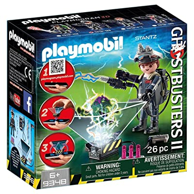 PLAYMOBIL Ghostbusters II Raymond Stantz Playmogram 3D Figure: Toys & Games