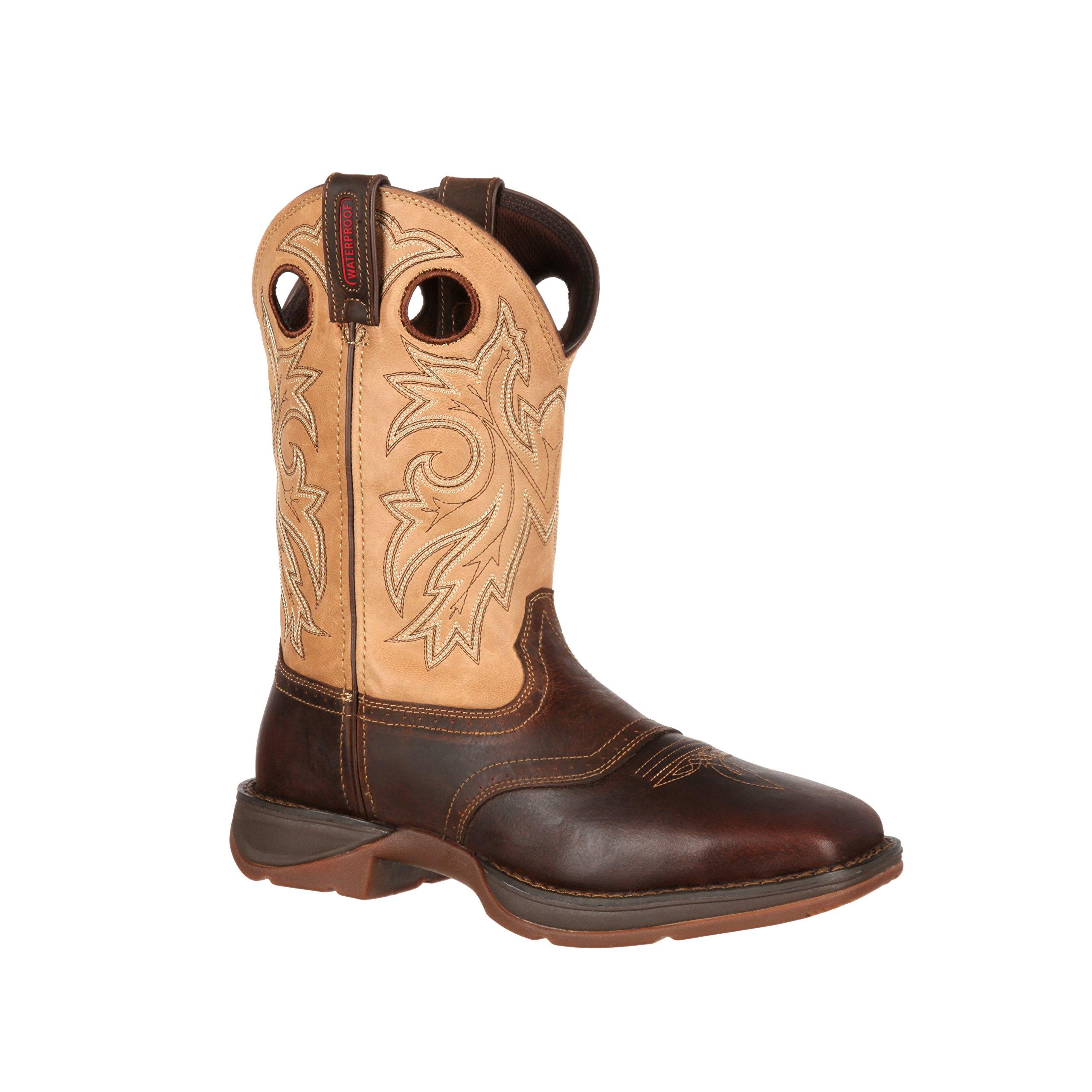 Durango Men's 11'' Rebel Square Toe Saddle Up Western Boot-DB4442 (W7.5)