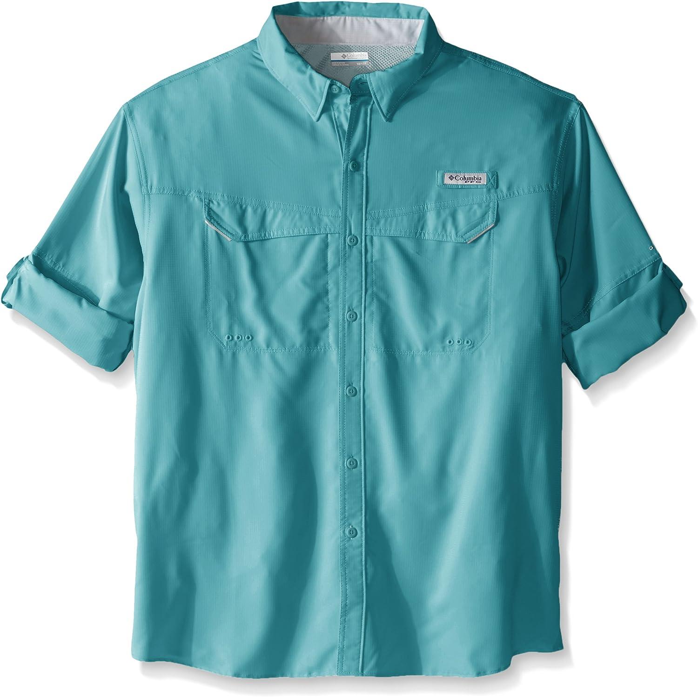 Columbia Camisa de Manga Larga para Hombre de Baja Arrastre Offshore Big & Tall, Hombre, 1450042, Moxie, 1 Unidad: Amazon.es: Ropa y accesorios