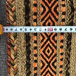 Amazon Co Jp サヤンサヤン クッションカバー 手織り インド キリム 45x45 ブルー エスニック アジアン 綿 ホーム キッチン