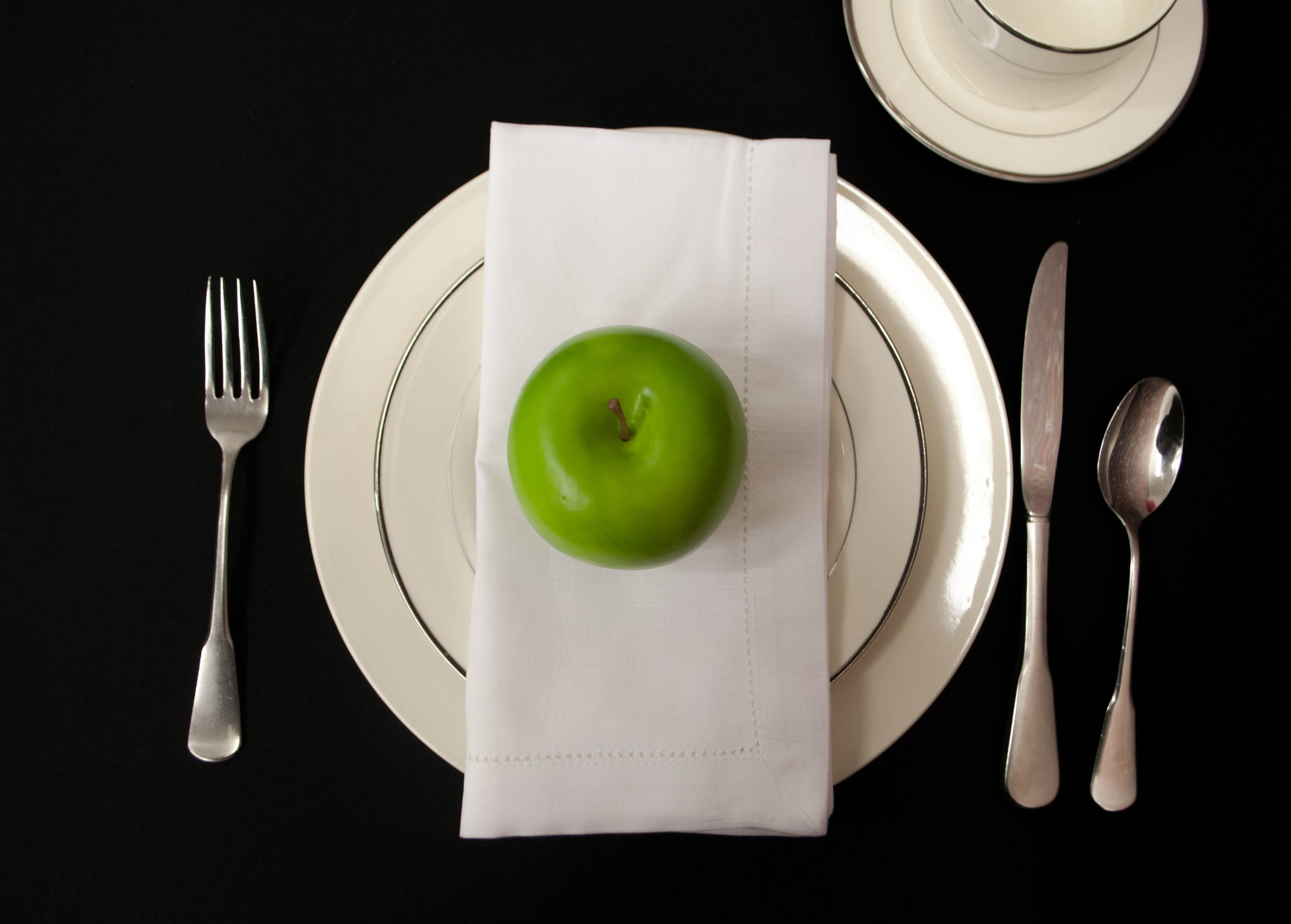Hemstitch Dinner Napkins White 1 Dozen by Something Different Linen by Something Different Linen (Image #5)