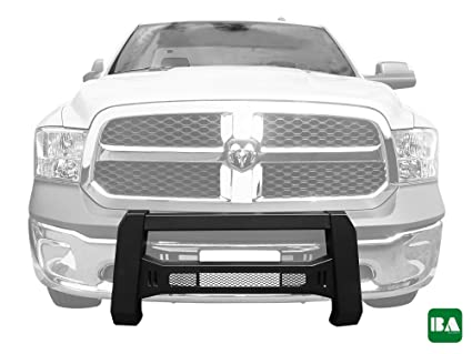 Better Automotive Mesh Version Modular Bull Bar Front Bumper Brush Guards Textured Black For Led Off Road Lights For 2009 2018 Dodge Ram 1500 Excl