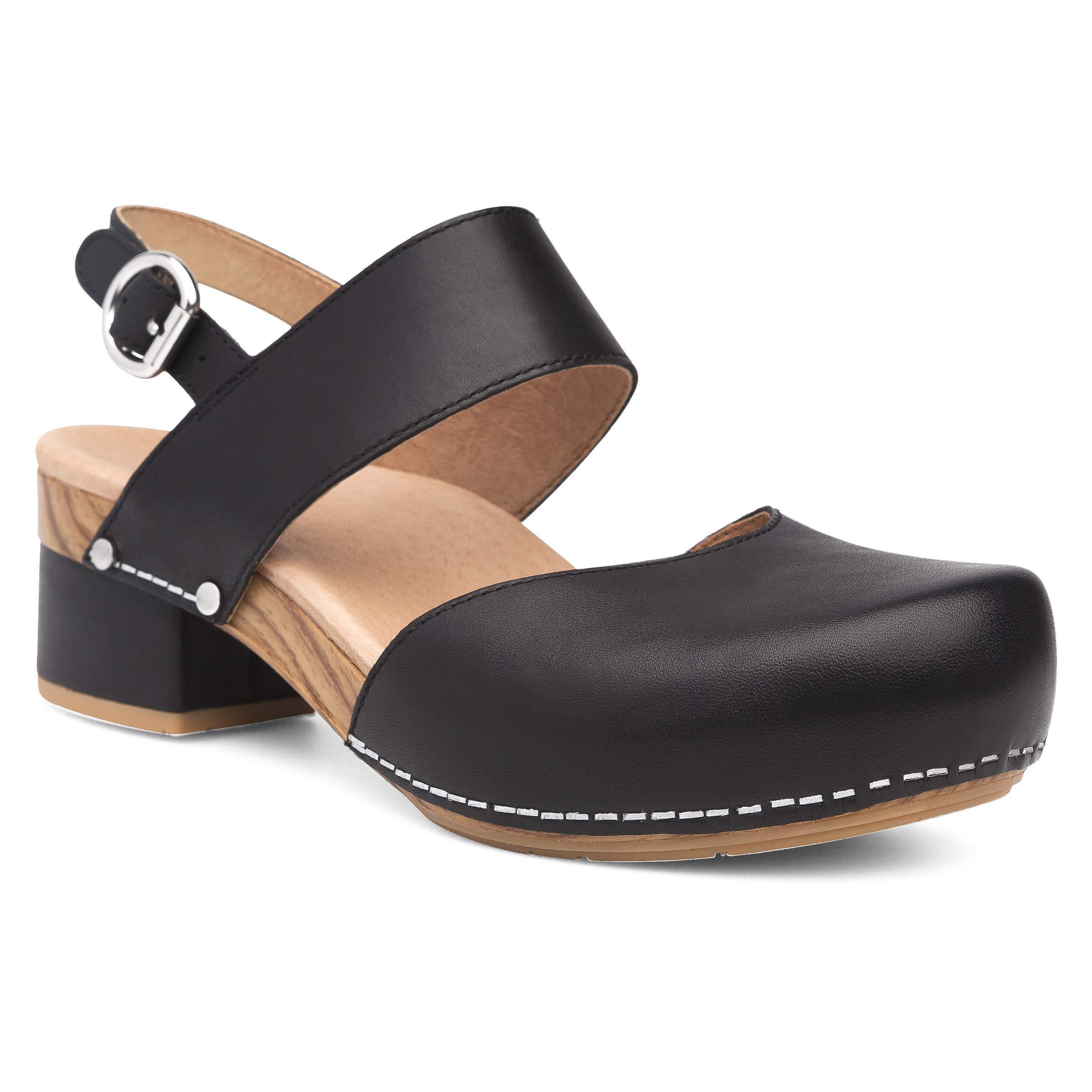 Dansko Women's Malin Black Sandal 7.5-8 M US by Dansko