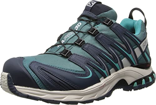 SALOMON WOMEN'S XA PRO 3D Ultra CS WP Grey Blue Outdoor Shoe