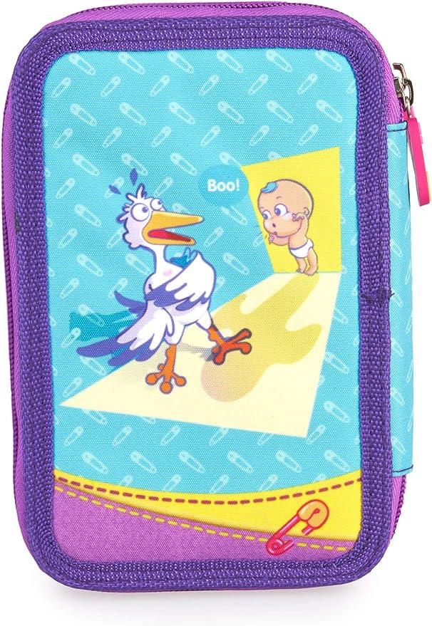 The Bellies - Estuche Escolar de bolígrafos Bellies, niñas a Partir de 3 años (Famosa 760018193): Amazon.es: Oficina y papelería