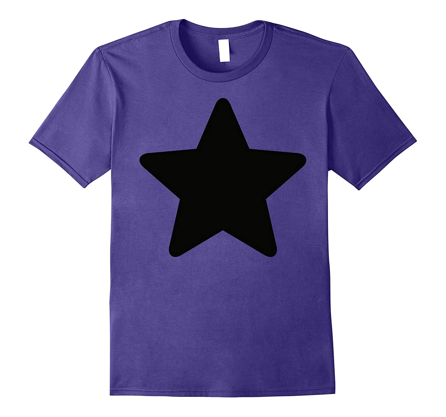 CN Steven Universe Amethyst Black Star Icon Graphic T-Shirt