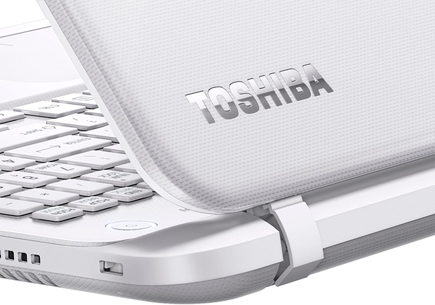 Toshiba Satellite L50-B-2EZ - Ordenador portátil (Portátil, Clickpad, Windows 8.1 , Ión de Litio, 64-bit, Color Blanco): Amazon.es: Informática