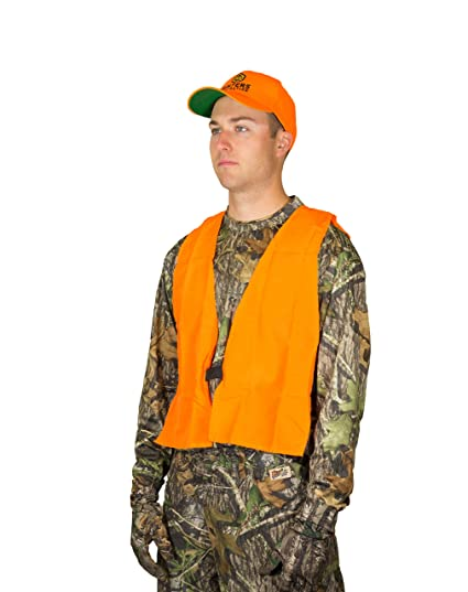 861e10a4c6bc0 Amazon.com : Hunters Specialties Magnum Safety Hunting Vest, Blaze ...