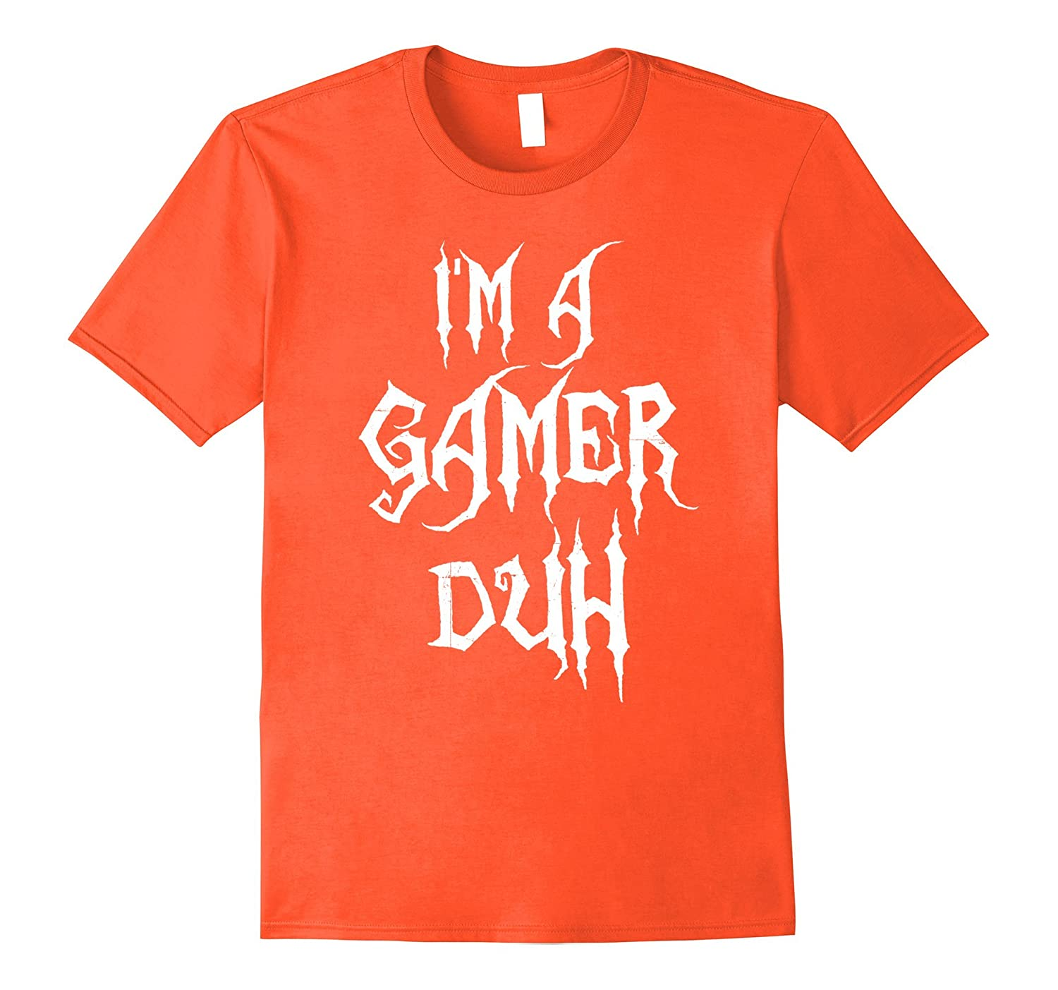 ccfcff326 I'm A Gamer Duh Halloween Video Game Costume Funny T-Shirts-ANZ ...