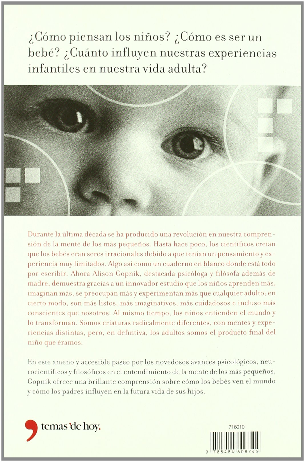 El filósofo entre pañales: ALISON GOPNIK: 9788484608745: Amazon.com: Books