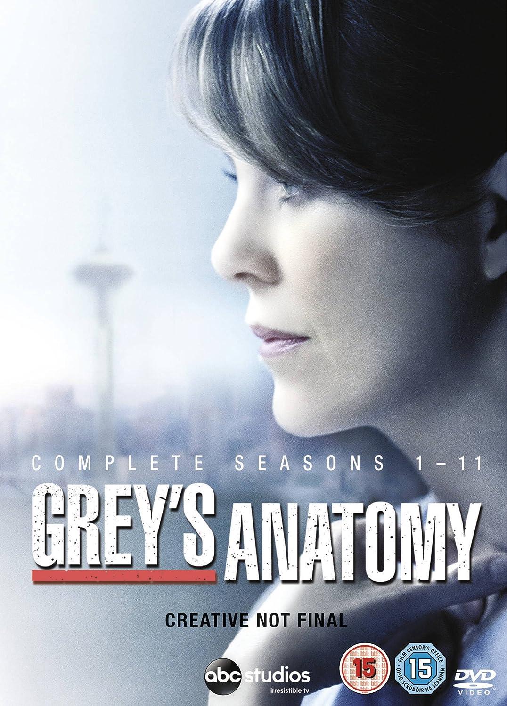 Amazon Greys Anatomy Complete Seasons 1 11 64 Dvd Box Set