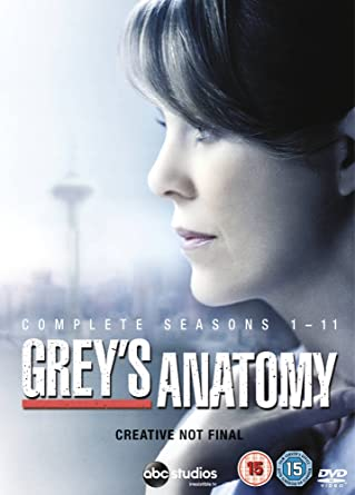 Amazon.com: Grey\'s Anatomy (Complete Seasons 1-11) - 64-DVD Box Set ...