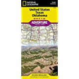 United States, Texas and Oklahoma (National Geographic Adventure Map, 3123)