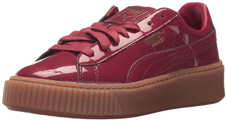 PUMA Women's Basket Platform Patent Wn Sneaker B01MU1B5PB 6.5 M US|Tibetan Red-tibetan Red