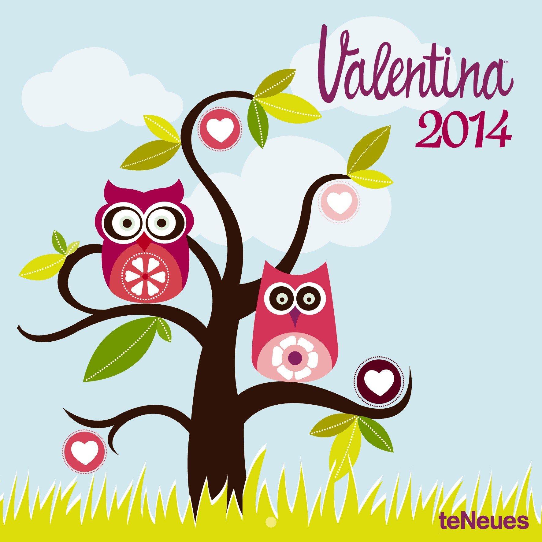 Valentina Ramos 2014 Broschürenkalender