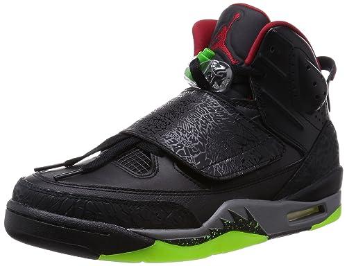 best service 24f2d 6c26b Nike Men s Jordan Son of Mars Black Grey Green Red 512245-006