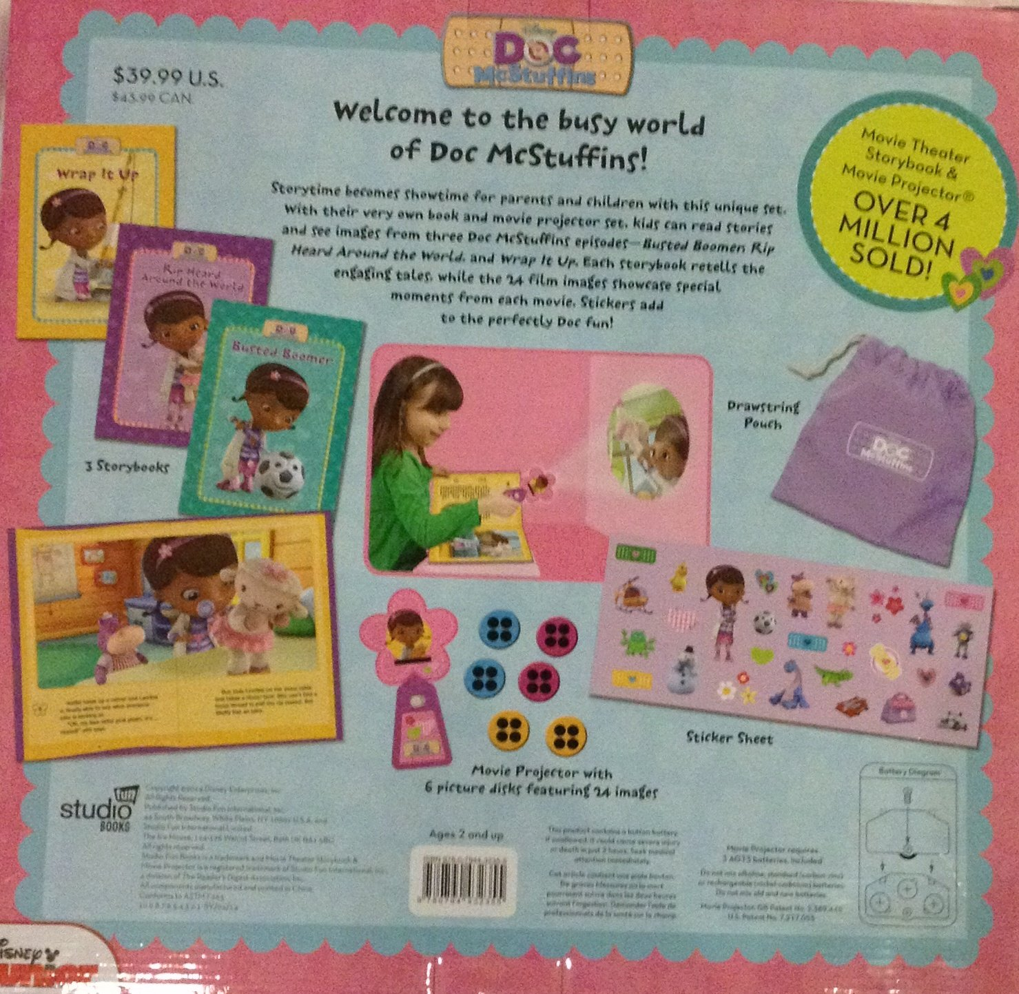 Disney Junior Doc McStuffins Deluxe - Set de Regalo de Libro ...
