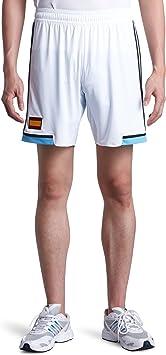 2012-13 España fuera pantalones cortos de fútbol Adidas, color blanco, tamaño medium: Amazon.es: Ropa y accesorios