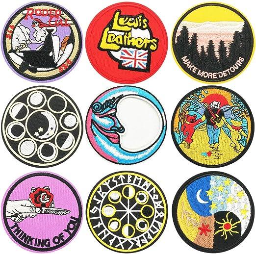 Ropa Parches, BETOY 9 pcs Patch Sticker coser parches bordados ...