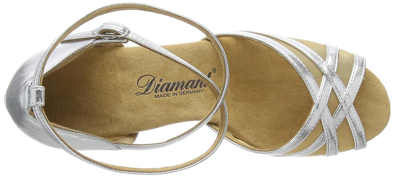 Diamant Damen Latein Tanzschuhe Chaussures de Danse de Salon Femme
