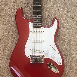 Amazon com: Squier by Fender Bullet Stratocaster Beginner