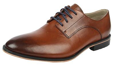 Clarks Gatley Walk, Mens Brogue, Brown (Tan Leather), 7.5 UK (