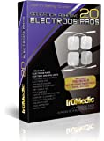 truMedic Replacement Pads Oem Tens Electrode Pads, White, 24 Individual Pads