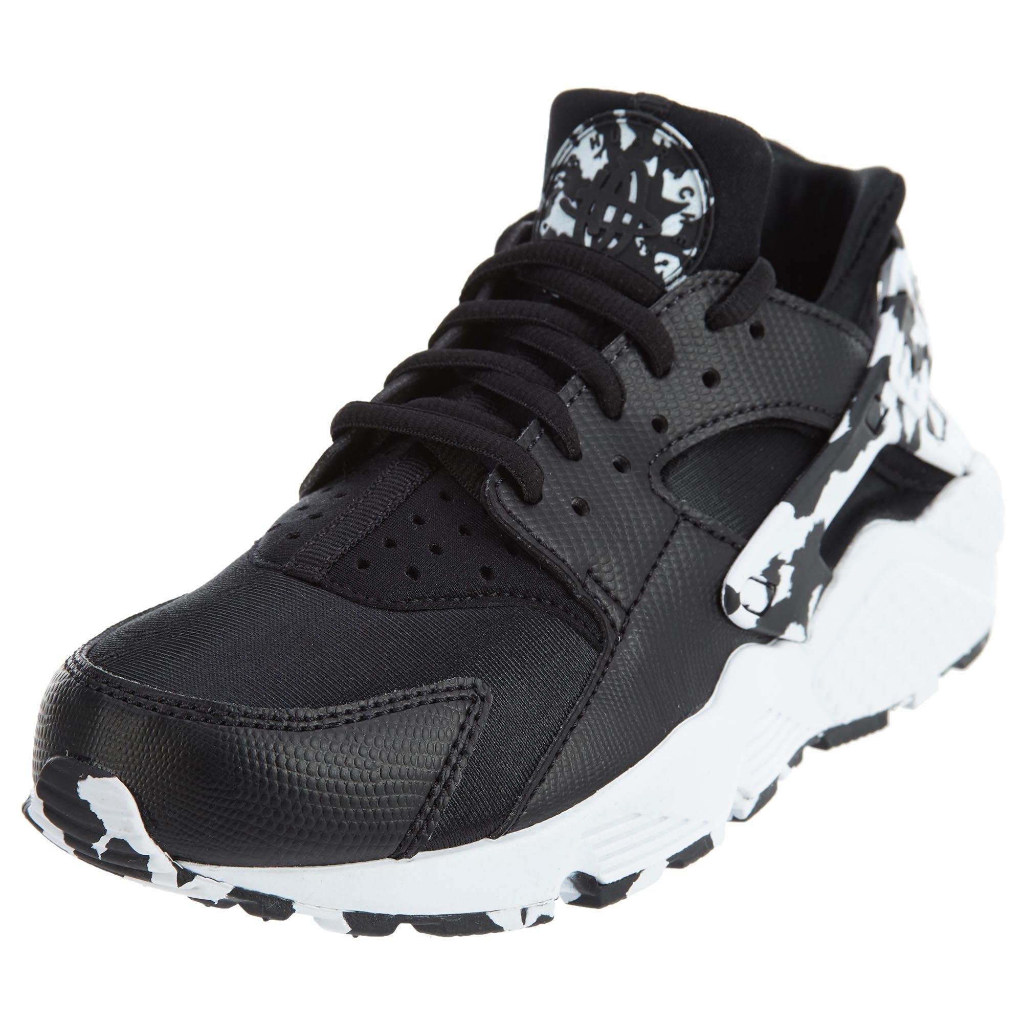 Women's Huarache Nike Air eu6½ Run Sneaker Black 37 us And 5 White CedrBEQxoW