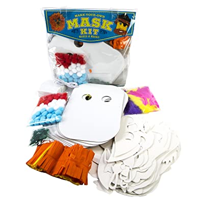 MindWare Make Your Own Mask Kit. Creative Arts and Crafts Fun for Ages 5 to 8: Toy: Toys & Games